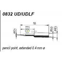 Wholesale ERSADUR 0832UD UDLF Long-Life Soldering Tip for ANALOG 60/60A,ANALOG 80/80A,DIGITAL 2000A from china suppliers