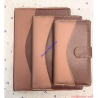 Wholesale A5 Size Leather Diary Personalized Soft Cover Notebook, gift notebook from china suppliers