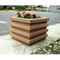 Quality wood plastic outdoor planter OLDA-7001 520mm*520mm*526mm for sale