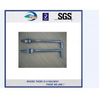 Wholesale TS16949 Approved Truck Bolt And Nut / Railway Fastener T Bolts With Gray Phosphating from china suppliers