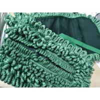 Buy cheap Green 16*95cm Tassels For Laundry Hotel Microfiber Wet Mop Pads from wholesalers