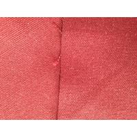 Wholesale Healthful Pink Hemp Blend Fabric Organic Cotton Twill Textile for Luggage / Handbag from china suppliers