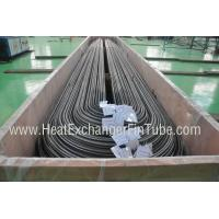 Wholesale Low Heat Exchanger U Tube , Seamless Stainless Steel U Bend Superheater Tube from china suppliers