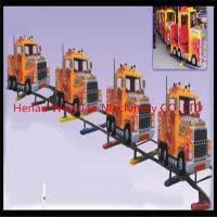 Wholesale 10% disaccount of  31M track 16seats truck shape electric rail trains for kiddies and adults from china suppliers