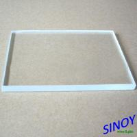 3mm - 19mm Low Iron Ultra Clear Float Glass , Low Iron Extra Clear Flat Float Glass