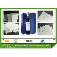 Wholesale Recycled Laminated Grey Board for Wine Box  with Strong Stiffness from china suppliers