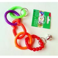 Wholesale 5 rings plastic bird toy for added funs suitable for budgies from china suppliers
