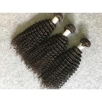 Wholesale Grade 8A Virgin Peruvian Human Hair Weave / Kinky Curly Hair Extensions from china suppliers