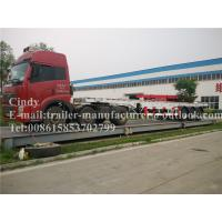 Wholesale Skeletal Container Trailer Chassis Truck Trailer with Straight Frame from china suppliers