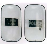 Wholesale PC Ballistic Police Riot Shield 990x560x180 with Rubber Padded Handles from china suppliers