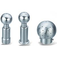 Wholesale Sanitation Grade Stainless Steel Sanitary Fittings Rotating Spray Ball Female from china suppliers