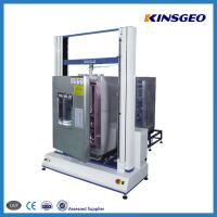 Wholesale Panasonic Servo Motor 50KN Tensile Testing Machine with Single Pole for Testing Leather from china suppliers