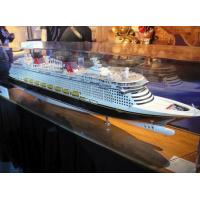 Wholesale Simulation Disney Cruise Ship Model , Disney Fantasy Model With Avoid Too Much Humidity from china suppliers