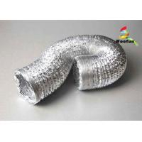 Wholesale Flame Resistant Single or Double Layer Aluminum Flexible Duct for HVAC Systems from china suppliers