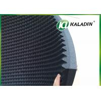 Wholesale EPDM Material Acoustic Foam Panels For Soundproofing / Reducing Noise 50mm Black from china suppliers