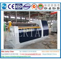 Wholesale CNC machine MCLW12XNC-60*3000 large hydraulic CNC four roller plate bending/rolling machine from china suppliers