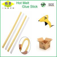Wholesale Yellow 11mm Silicone Hot Glue Sticks Bar With High Adhesive Strength from china suppliers