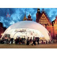 Wholesale Luxurious Universal Outdoor Event Tents Fabric Dome Structures Long Life Span from china suppliers
