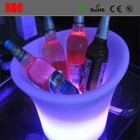 Wholesale Fashion Design Club LED Plastic Colorful Ice Bucket from china suppliers