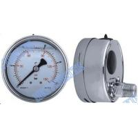 Wholesale Shrink bayonet bezel , polish case welding 100mm pressure gauge with glycerine filled from china suppliers