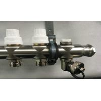 Buy cheap Polypipe Underfloor Heating Manifold With Short Flow Meter And Two Drain Valves from wholesalers