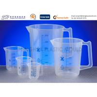 Wholesale Custom Labware 500 ml , 150 ml PP Plastic Measuring Beakers , Cups for laboratory from china suppliers