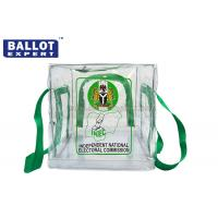 Wholesale ISO9001 Duable PVC Collapsible Ballot Box Poly Bag Transparent from china suppliers