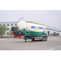 China 45m3 Bulk Cement Semi Trailer QB245 Carbon Steel Material With One Tool Box on sale