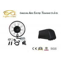 Buy cheap 36V 500W Black Gearless Motor Kit With Down Tube Type Battery from wholesalers