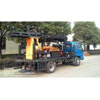 Wholesale 200m Depth 10.5 - 24.6bar KW20 Truck Mounted Water Well Drilling Rigs CE from china suppliers