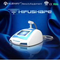 Wholesale 2015 New Trend Nubway HIFU Machine For Weight Loss from china suppliers