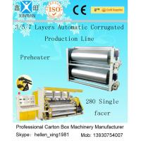 Wholesale High Speed 3 / 5 / 7 Ply Corrugated Carton Packing Machine With Steam Heating System from china suppliers