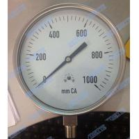 "Wholesale Diaphragm Sealing Capsule Pressure Gauge 6"" Bottom An Instruments Pressure Gauge from china suppliers"