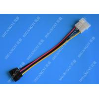Wholesale 4 Pin Molex to SATA Data Cable Cable Harness Assembly For Computer 6 Inches from china suppliers