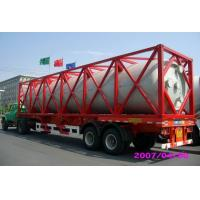 Wholesale High Strength Stainless Steel 40ft ISO Liquid Tank Container For Chemical Shipping from china suppliers
