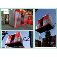 Safety Passenger And Material Construction Site Lift High Efficiency 2000kg Load