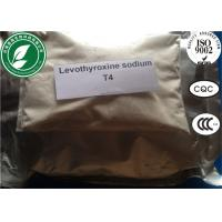 Wholesale CAS 25416-65-3 Raw Steroid Powders T4 Sodium Levothyroxine For Weight Loss from china suppliers