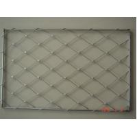 high strength stainless steel 304 316 rope wire mesh for Agriculture