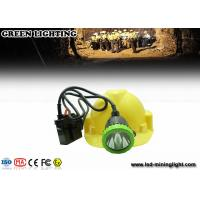 Wholesale 50000 Lux Stainless Intrinsically Safe Corded Rechargeable Miners Headlamp With 11.2ah Li-Ion Battery from china suppliers