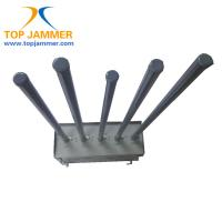 Wholesale 5 Bands 75W High Power Mobile Signal Jammer Blocker Isolator GSM 3G Wifi Fiberglass Ant. from china suppliers