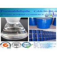 Quality CAS 50-00-0 Formaldehyde Plastic Colorless No Suspended Substance Agent for sale
