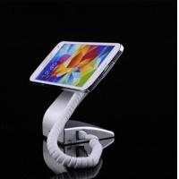 Wholesale COMER Plastic mobile phone anti-theft display counter holder with alarm sensor and  charging cables from china suppliers