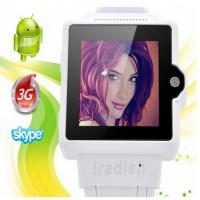 Quality I6 Watch Phone 1.54 Inch Screen MTK6577 Android 4.0 OS Camera 4GB GPS 3G 2.0MP camera Andr for sale