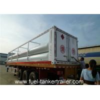 Wholesale CNG tube skid chemical tank trailer Truck with Seamless steel tubes from china suppliers
