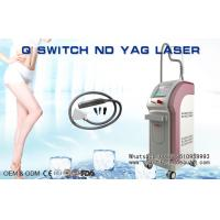 Wholesale Vertical Q Switch ND YAG Laser Tattoo Removal Machine 532nm / 1064nm / 1320nm from china suppliers