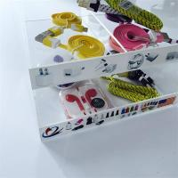 Wholesale Acrylic Phone Accessory Counter Display Stand for iphone Charger from china suppliers