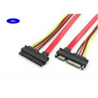 Wholesale Laptop 4 Pin / 7 Pin SATA Cable Wiring Harness With PVC Jacket / Bare Copper Wire from china suppliers