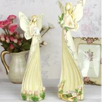 Wholesale Angel polyresin candle holder wedding gifts from china suppliers