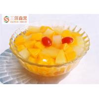 Wholesale Bulk Delicious Organic Mixed Canned Fruit In Light Syrup No Preservatives from china suppliers
