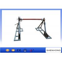 Wholesale Integrated Disc Tension Brake Cable Reel Drum Stand 50kn Capacity from china suppliers